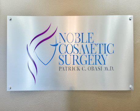 Office Name Board, Noble Cosmetic Surgery
