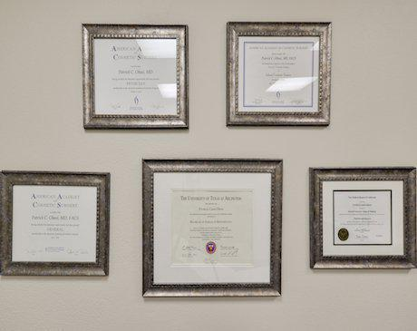 Certificates 01, Noble Cosmetic Surgery