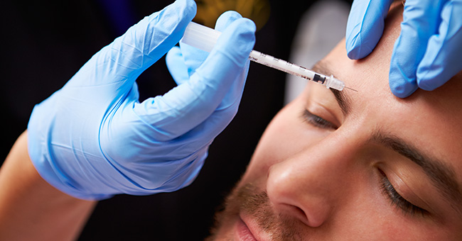 Male patients can consider Botox treatment in Plano, TX for aging skin